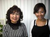 店主 吉岡和子さん、福泉千恵さん