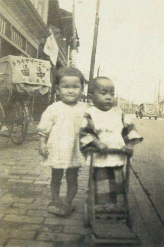 創業当初の新宿区柳町の様子