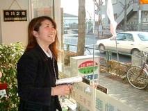 露木美佐良さん。この笑顔にどれだけの客が、心をなごますことだろう