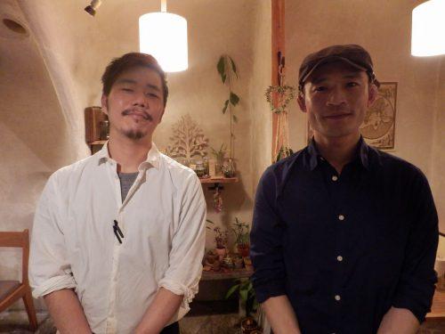 店主 佐藤勇二さん(オーナーシェフ)さん 伊藤貴洋(マネージャー)さん