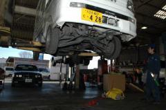 車検・整備・点検とすべて最新鋭のシステムと、技術で対応