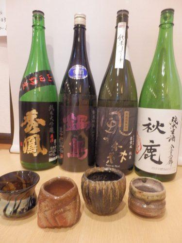 もえさんは飲食店に勤務していた関係で、26歳で唎き酒師の資格を取得。すべて自分で唎いて、納得したものを置く。好きなお酒は日本酒。無濾過生原酒という搾ったままのお酒にこだわる。ビールはコンスターチ不使用のもの。ソフトドリンクは「柑橘果汁100%ストレート」の各種ジュース、有機無農薬健康茶(びわ茶、ごぼう茶など)。