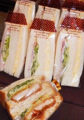 サンドイッチやカレーパンなど、惣菜系の充実ぶりはタダモノではない。クロワッサンやバゲットの美味しさも定評が。隠れた名品はレーズンパンのラスク